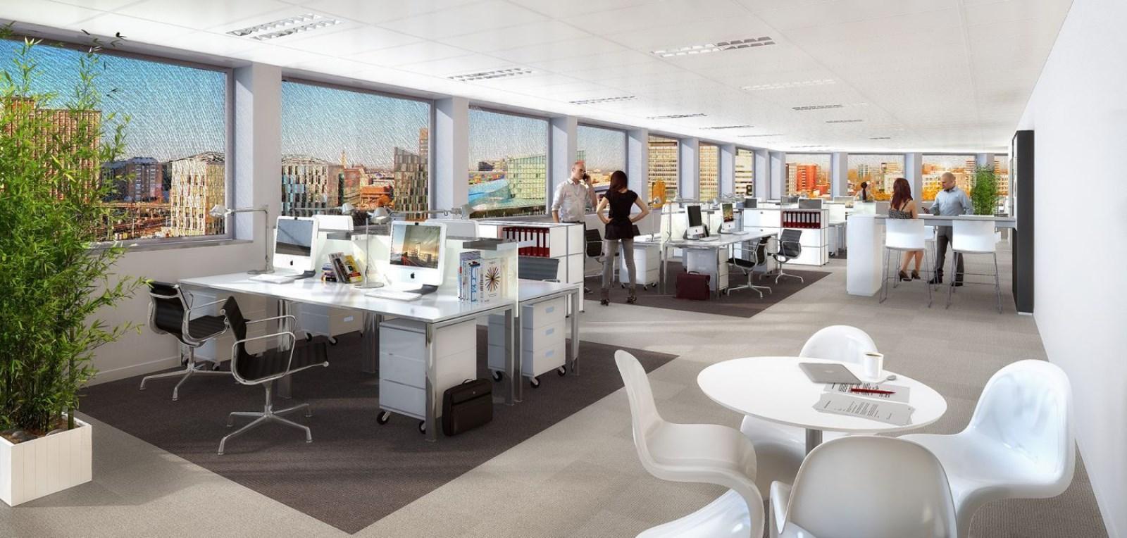 Bureaux à louer lille 59000 surface : de 1500 m2 à 14813 m2 réf