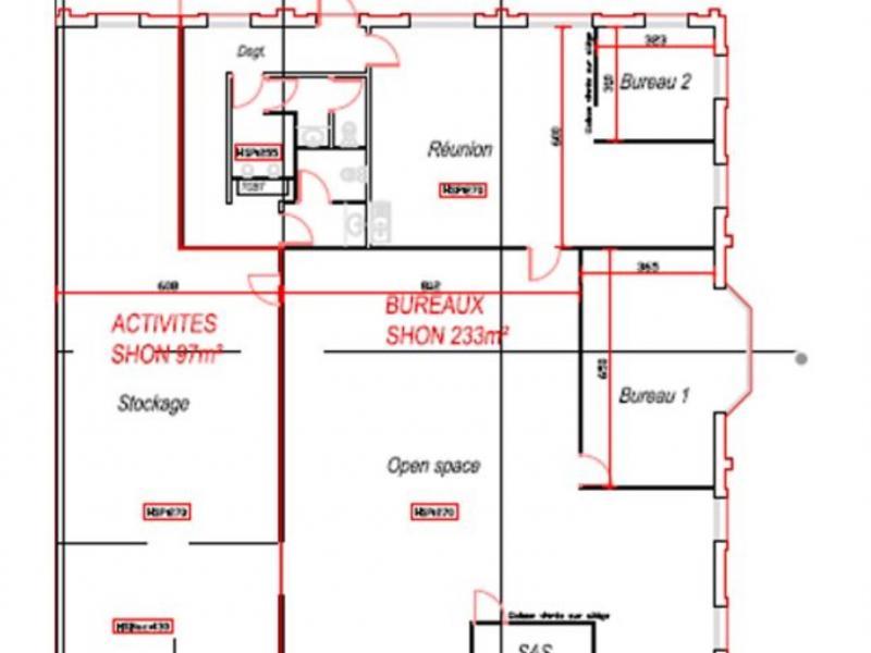 Activités à louer | Lesquin (59810) Surface : 330 m2 Réf. 766922