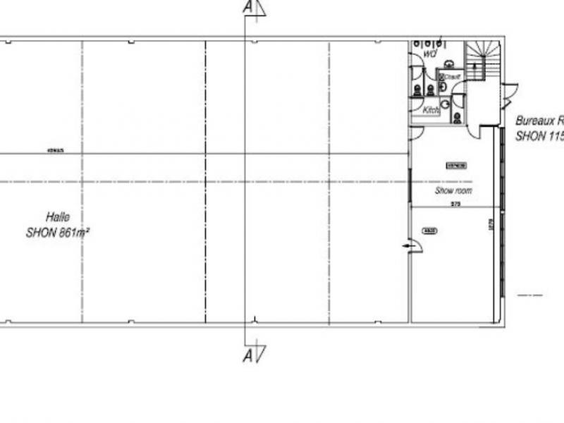 Activités à louer | Marcq En Baroeul (59700) Surface : 1050 m2 Réf. 794656