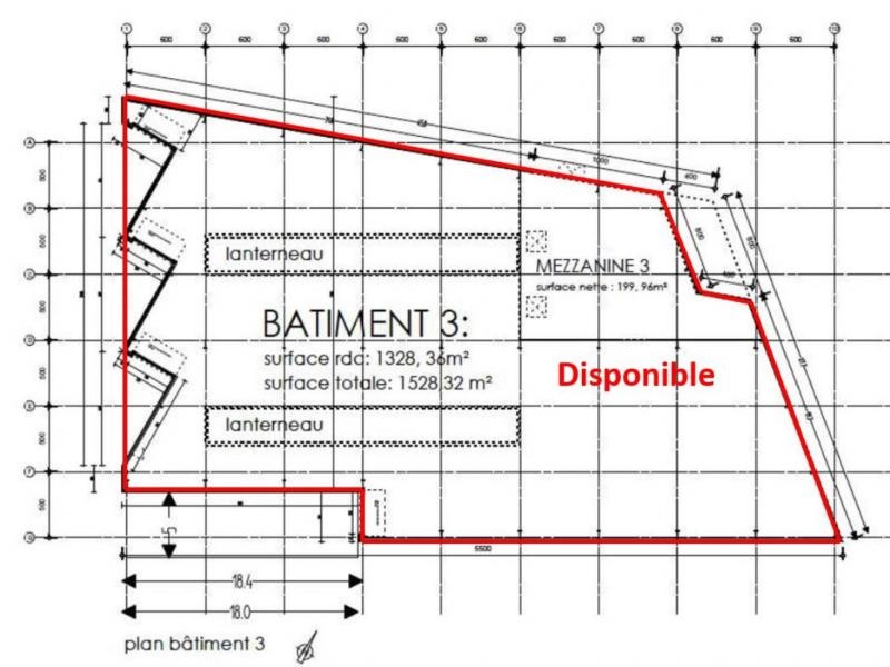 Activités à louer | Roncq (59223) Surface : 1528 m2 Réf. 761650