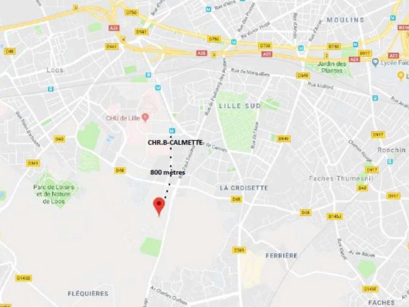 Bureaux à louer | Loos (59120) Surface : De 1596 m2 à 3500 m2 Réf. 766377