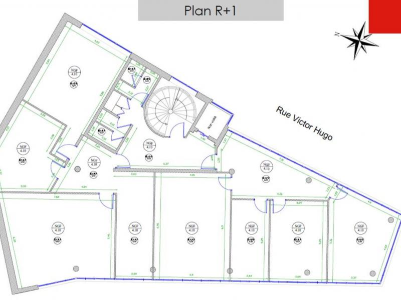 Bureaux à louer   Saint Andre Lez Lille (59350) Surface : de 244 m2 à 742 m2 Réf. 805231