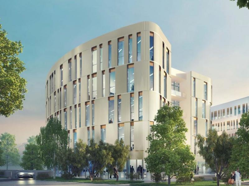 Bureaux à louer | Villeneuve D'ascq (59650) Surface : de 479 m2 à 1418 m2 Réf. 744292