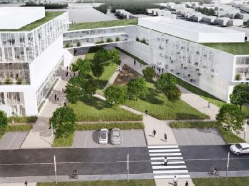 Bureaux à louer | Villeneuve D'ascq (59650) Surface : De 2500 m2 à 17000 m2 Réf. 779437