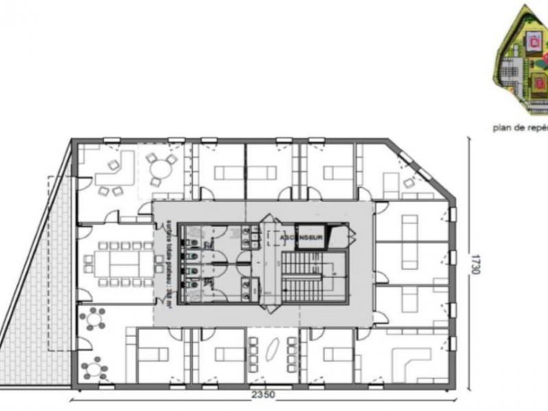 Bureaux à louer | Villeneuve D'ascq (59650) Surface : de 344 m2 à 2981 m2 Réf. 842086
