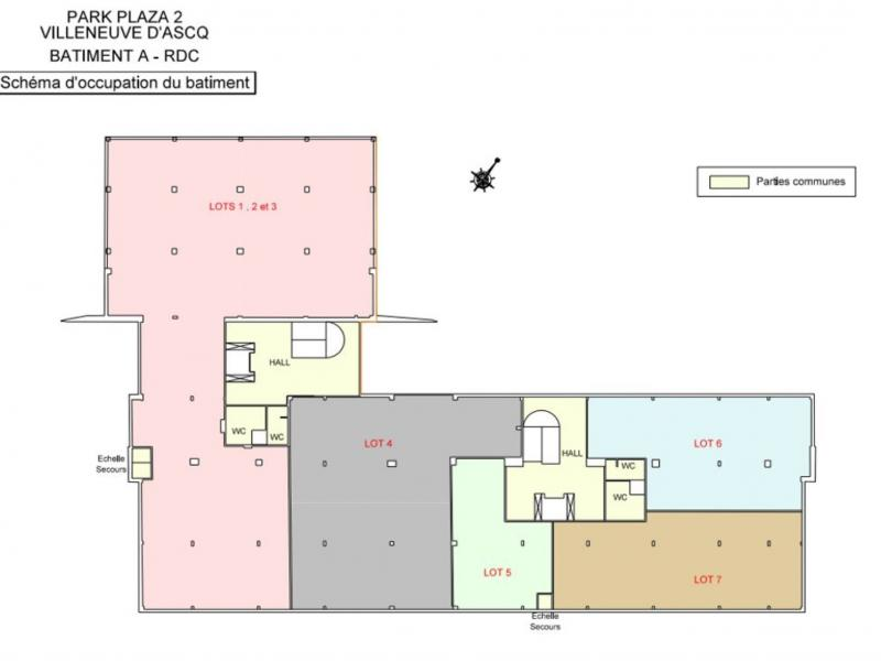 Bureaux à louer | Villeneuve D'ascq (59650) Surface : de 200 m2 à 2131 m2 Réf. 961667