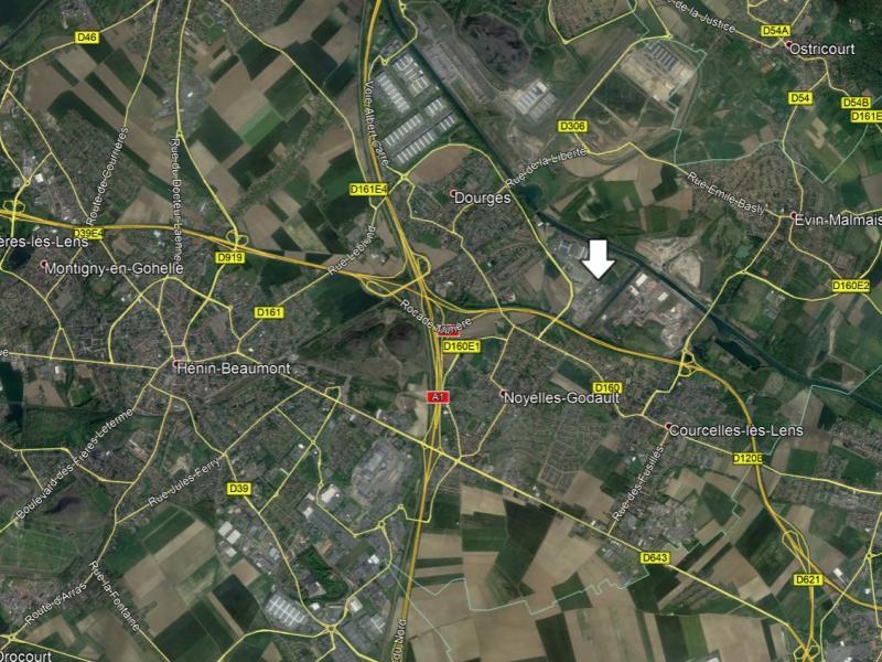 Entrepôts à louer | Noyelles Godault (62950) Surface : 2051 m2 Réf. 763832