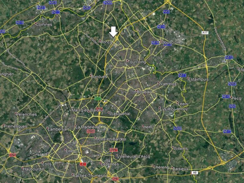 Entrepôts à louer | Roncq (59223) Surface : 2500 m2 Réf. 767125
