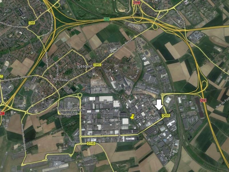 Locaux d'activités à louer | Lesquin (59810) Surface : 330 m2 Réf. 766922