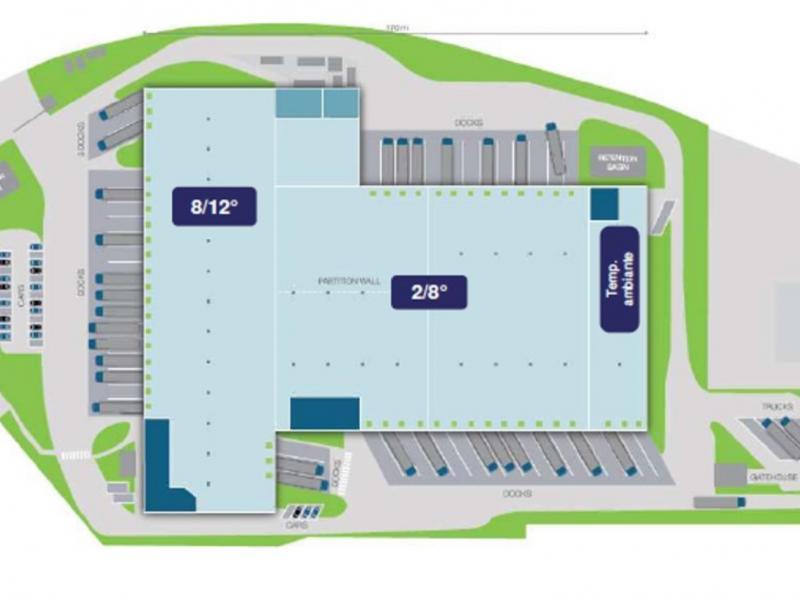 Entrepôts à louer   Libercourt (62820) Surface : de 953 m2 à 17642 m2 Réf. 788918