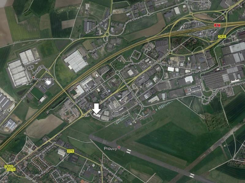 Entrepôts à louer | Prouvy (59121) Surface : de 178 m2 à 2514 m2 Réf. 763813
