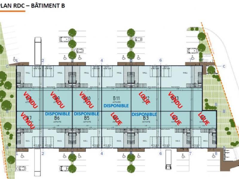 Activités à vendre / à louer | Famars (59300) Surface : de 227 m2 à 6753 m2 Réf. 763824