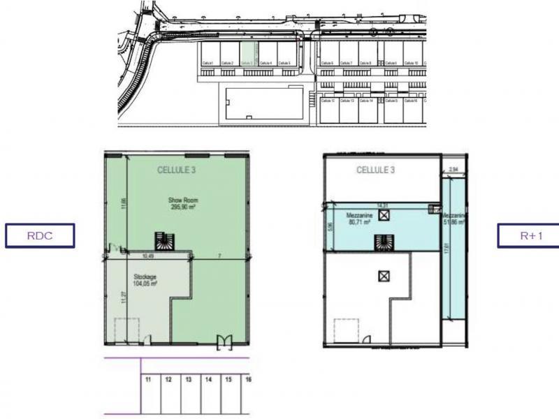 Activités à vendre / à louer | La Madeleine (59110) Surface : de 480 m2 à 8637 m2 Réf. 803189