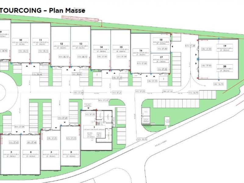 Activités à vendre / à louer | Tourcoing (59200) Surface : de 124 m2 à 5091 m2 Réf. 802444