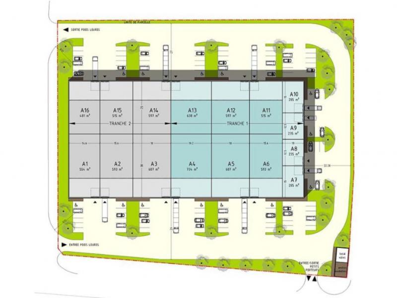 Activités à vendre / à louer | Wattrelos (59150) Surface : de 235 m2 à 8233 m2 Réf. 785407