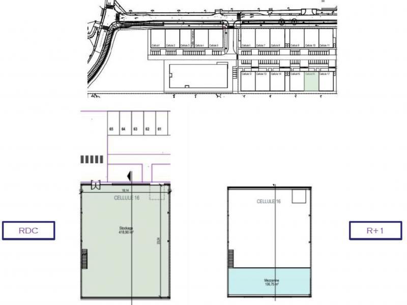 Entrepôts à vendre / à louer | La Madeleine (59110) Surface : De 480 m2 à 8637 m2 Réf. 803189
