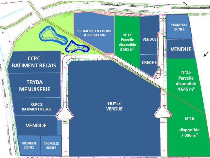 Terrains à vendre | Cappelle En Pevele (59242) Surface : De 3581 m2 à 15232 m2 Réf. 766297
